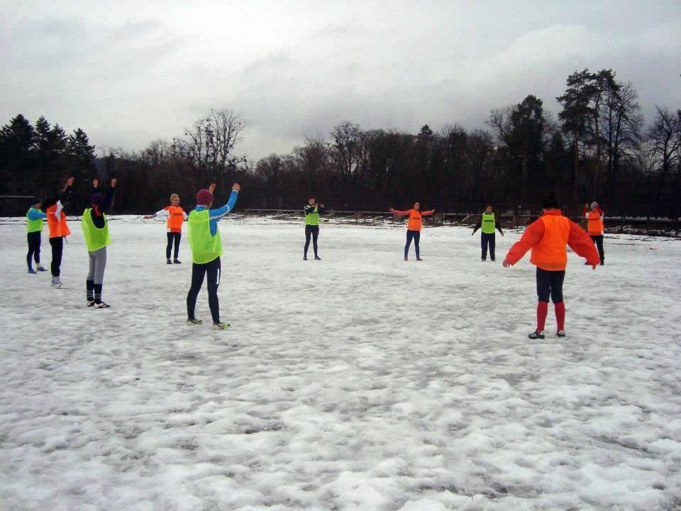 Rugby pe zăpadă