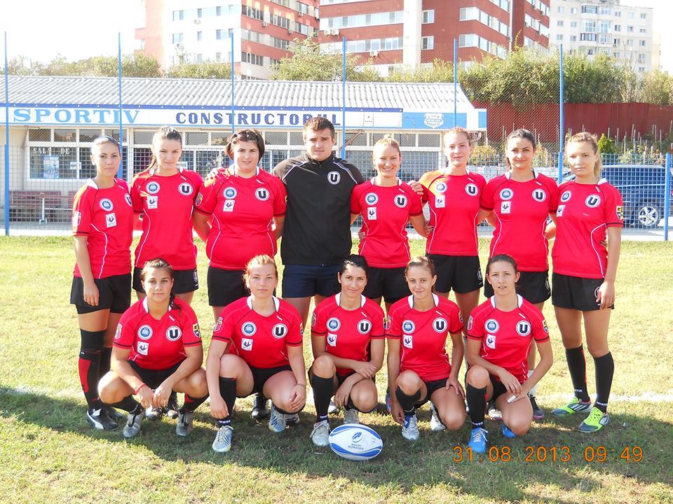 Echipa de rugby feminin U Cluj