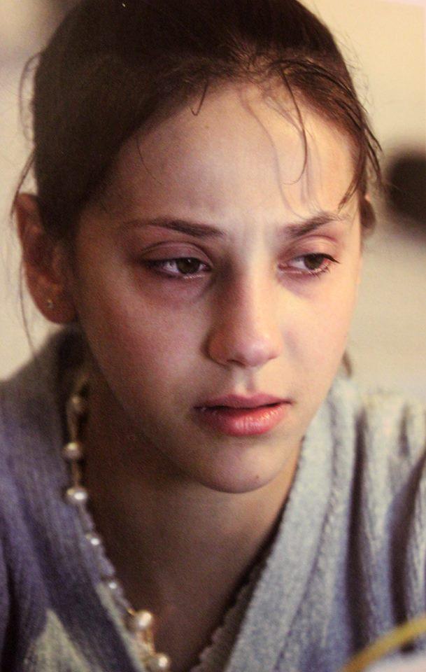 Andreea Răducan în lacrimi