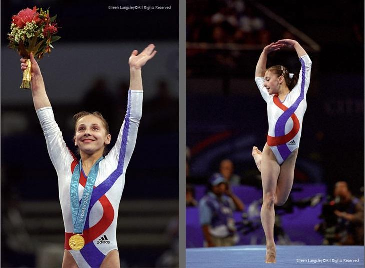 Andreea Răducan la Jocurile Olimpice de la Sydney