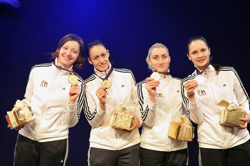 Medalii de aur pentru spadasinele României în prima etapă a Cupei Mondiale