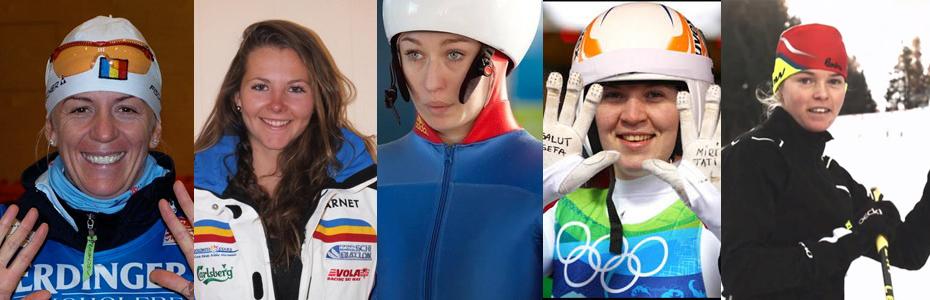Cine sunt sportivele care vor reprezenta România la Jocurile Olimpice de iarnă de la Soci?
