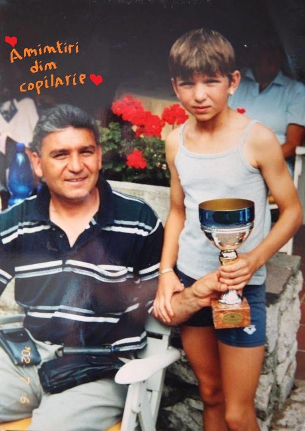 Simona Halep și tatăl ei