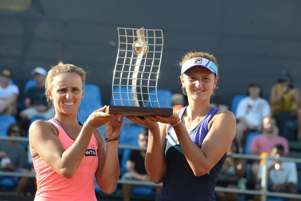 TURNEUL de la RIO: Irina Begu a câștigat finala de la dublu