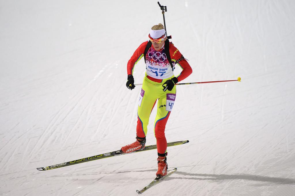 Eva Tofalvi la Jocurile Olimpice de iarnă de la Soci