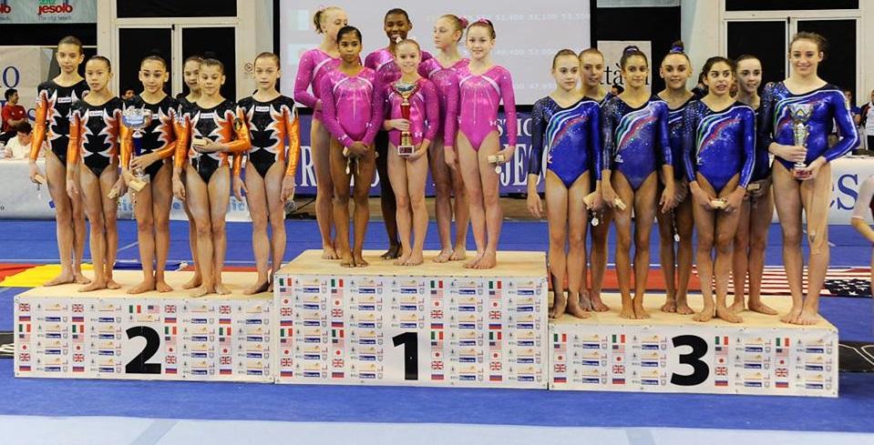 GIMNASTICĂ: 6 medalii la Trofeo Citta di Jesolo