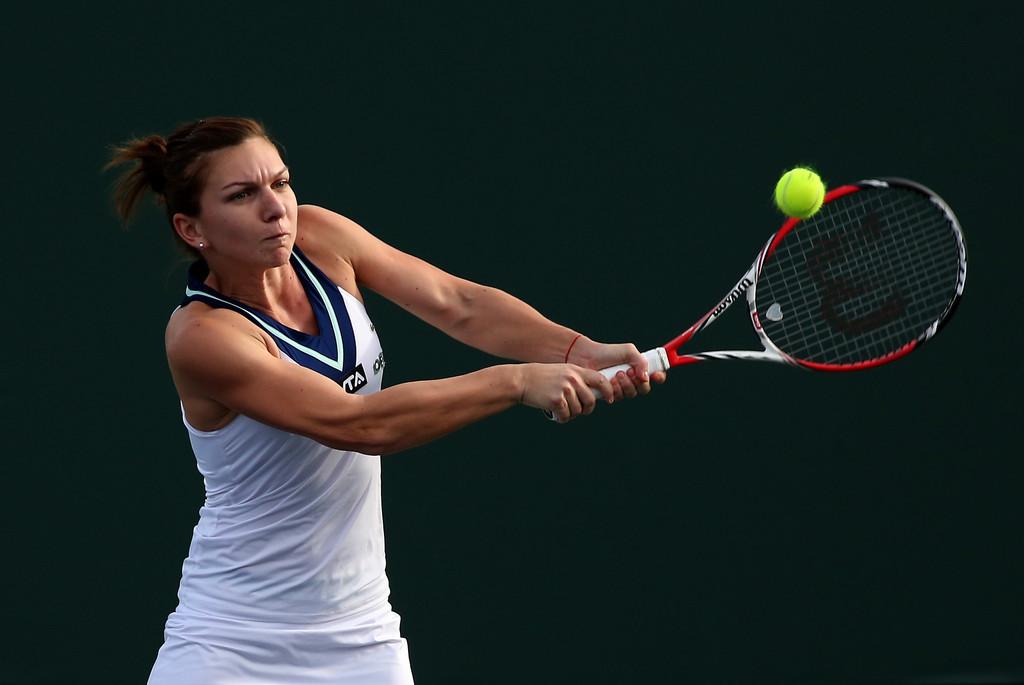 Simona Halep la BNP Paribas Open