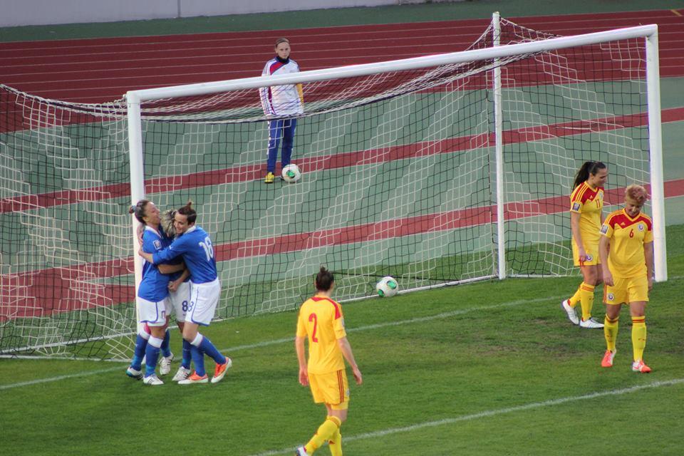România - Italia, 1-2 în preliminariile Cupei Mondiale 2015